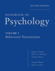 Handbook of Psychology, Behavioral Neuroscience, PDF eBook