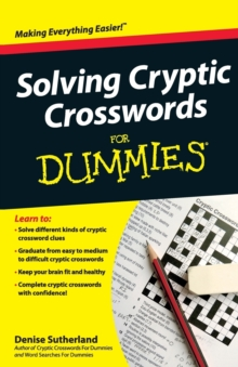 Solving Cryptic Crosswords for Dummies, Paperback Book