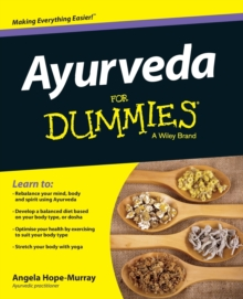 Ayurveda For Dummies, Paperback / softback Book