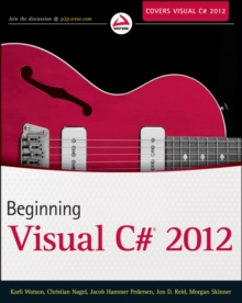 Beginning Visual C# 2012 Programming, Paperback Book