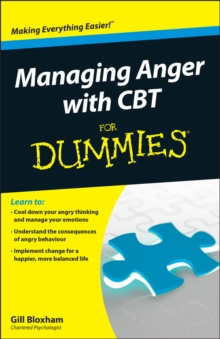Managing Anger with CBT For Dummies, Paperback Book