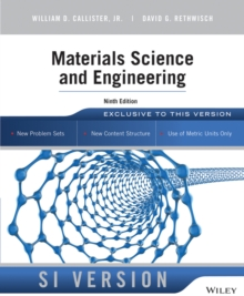 Materials Science and Engineering, Paperback / softback Book