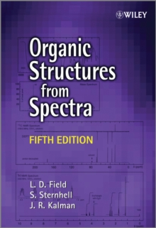 Organic Structures from Spectra, Paperback / softback Book
