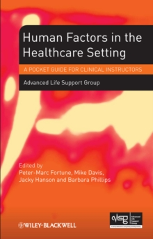 Human Factors in the Health Care Setting : A Pocket Guide for Clinical Instructors, EPUB eBook