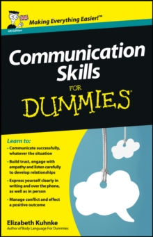 Communication Skills For Dummies, Paperback Book