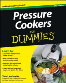 Pressure Cookers For Dummies, EPUB eBook