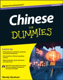 Chinese for Dummies, 2nd Edition, Paperback Book
