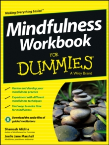 Mindfulness Workbook For Dummies, Paperback Book