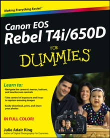 Canon EOS Rebel T4i/650D For Dummies, PDF eBook
