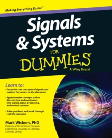 Signals and Systems For Dummies, Paperback Book