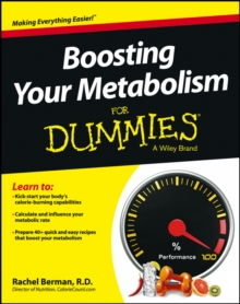 Boosting Your Metabolism for Dummies, Paperback Book