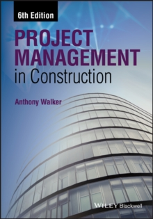 Project Management in Construction, Paperback / softback Book