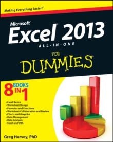 Excel 2013 All-in-One For Dummies, Paperback / softback Book