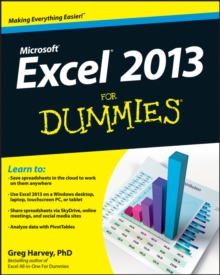 Excel 2013 For Dummies, Paperback / softback Book