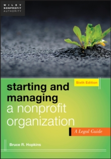 Starting and Managing a Nonprofit Organization : A Legal Guide, EPUB eBook