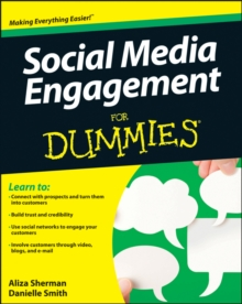 Social Media Engagement for Dummies, Paperback Book