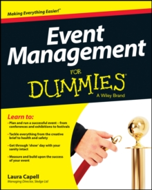 Event Management For Dummies, Paperback / softback Book