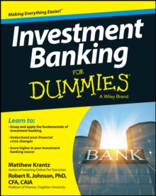 Investment Banking For Dummies, PDF eBook