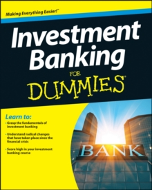 Investment Banking For Dummies, Paperback / softback Book