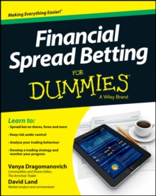 Financial Spread Betting For Dummies, Paperback Book