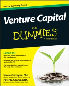 Venture Capital for Dummies, Paperback Book