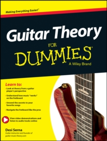 Guitar Theory For Dummies : Book + Online Video & Audio Instruction, Paperback / softback Book