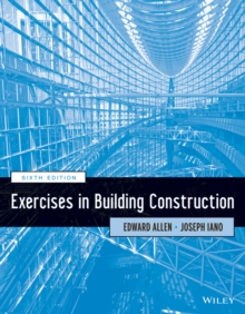 Exercises in Building Construction, Paperback Book