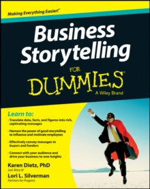 Business Storytelling for Dummies, Paperback Book