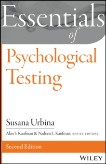 Essentials of Psychological Testing, Paperback / softback Book