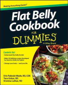 Flat Belly Cookbook For Dummies, Paperback Book