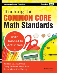 Teaching the Common Core Math Standards with Hands-On Activities, Grades 3-5, PDF eBook