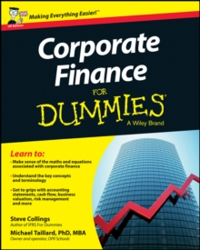 Corporate Finance For Dummies - UK, Paperback / softback Book