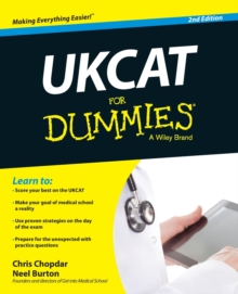 UKCAT For Dummies, Paperback / softback Book