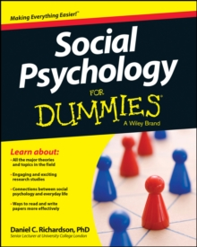 Social Psychology for Dummies, Paperback Book