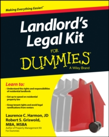Landlord's Legal Kit for Dummies, Paperback / softback Book
