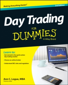Day Trading for Dummies, 3rd Edition, Paperback Book