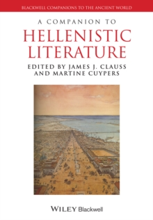 A Companion to Hellenistic Literature, Paperback Book