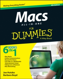 Macs All-in-One For Dummies, Paperback Book