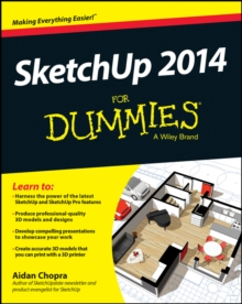 Sketchup 2014 For Dummies, Paperback Book