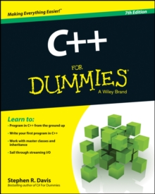 C++ For Dummies, Paperback / softback Book