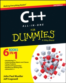 C++ All-in-One For Dummies, EPUB eBook