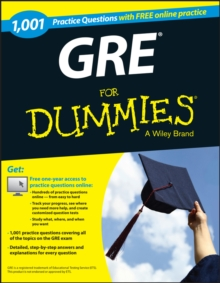 1,001 GRE Practice Questions For Dummies (+ Free Online Practice), EPUB eBook