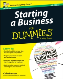 Starting a Business For Dummies, Paperback Book