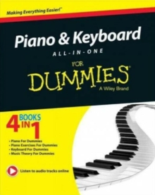 Piano and Keyboard All-in-One For Dummies, Paperback / softback Book