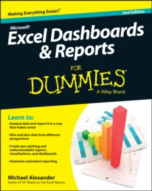 Excel Dashboards and Reports For Dummies, Paperback / softback Book