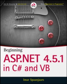 Beginning ASP.NET 4.5.1: in C# and VB, PDF eBook