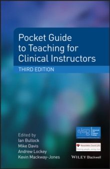 Pocket Guide to Teaching for Clinical Instructors, EPUB eBook
