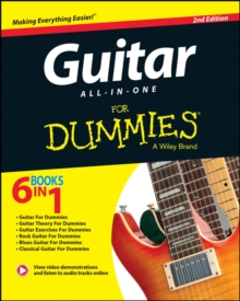 Guitar All-In-One for Dummies : Book + Online Video & Audio Instruction, 2nd Edition, Paperback Book