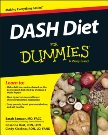 DASH Diet For Dummies, Paperback / softback Book