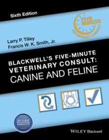 Blackwell's Five-Minute Veterinary Consult : Canine and Feline, Hardback Book
